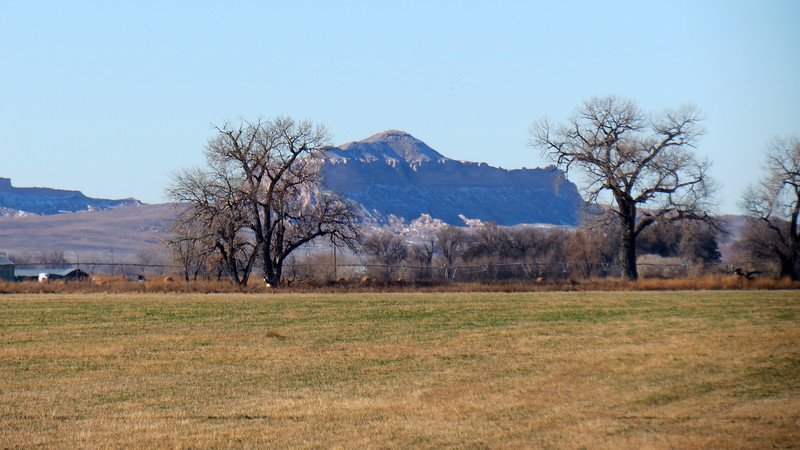 Zooming in on Castle Rock (4,478 feet).