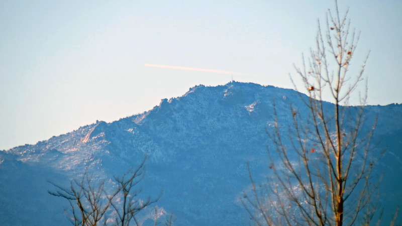 Zooming in on Laramie Peak.