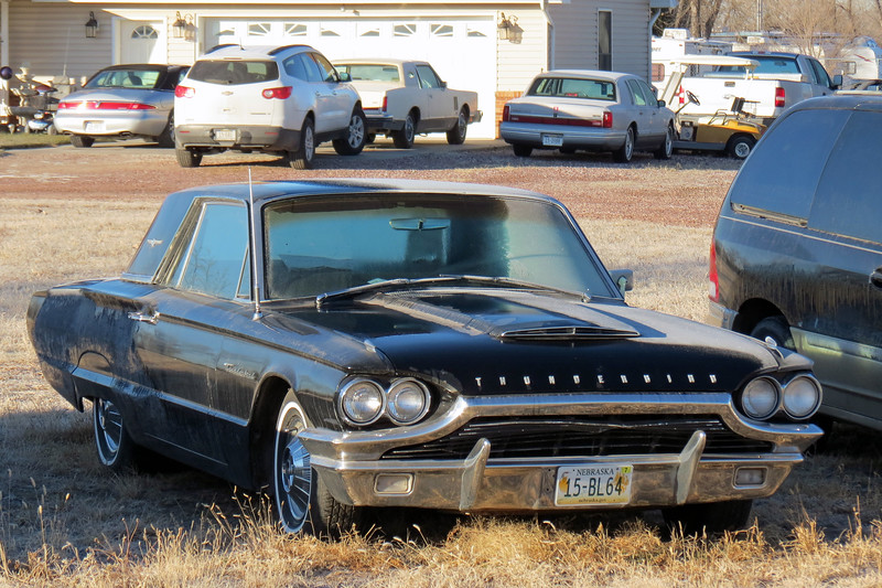 Next to the Town Car was a 1965 Ford Thunderbird.