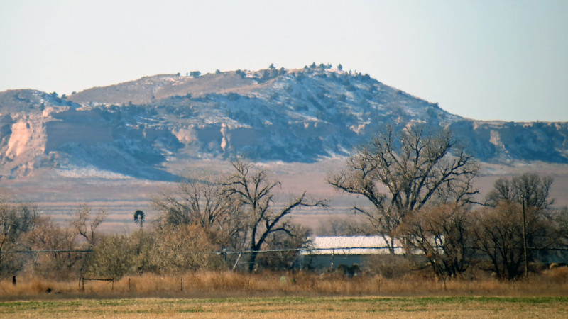 Zooming in on the Wildcat Hills.