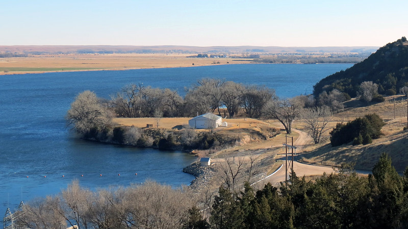 Shore area around Lake Ogallala.