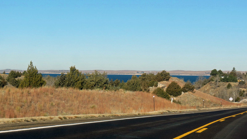 This is the eastern end of Lake McConaughy.