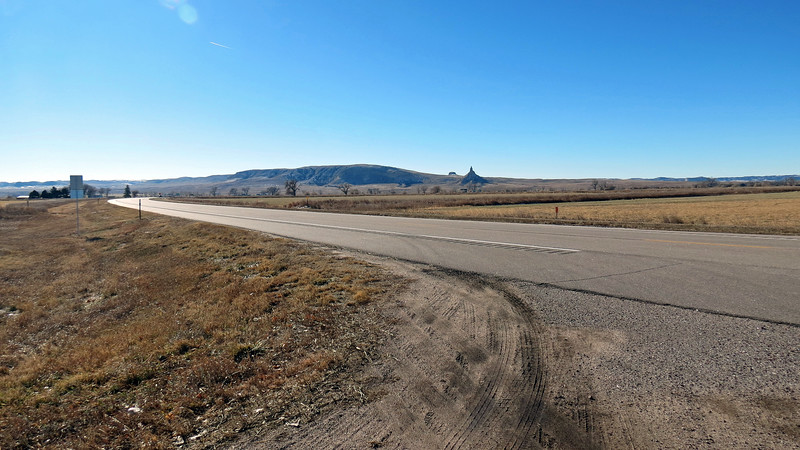 I continued onward and pulled over once again outside of Bayard, Nebraska to take pics of the scenery.