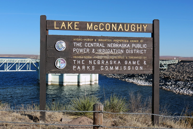 "Welcome to Lake McConaughy, locally known as ""Big Mac."""