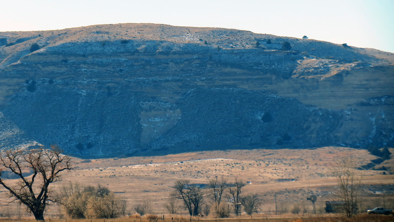 Zooming in on part of the Wildcat Hills.