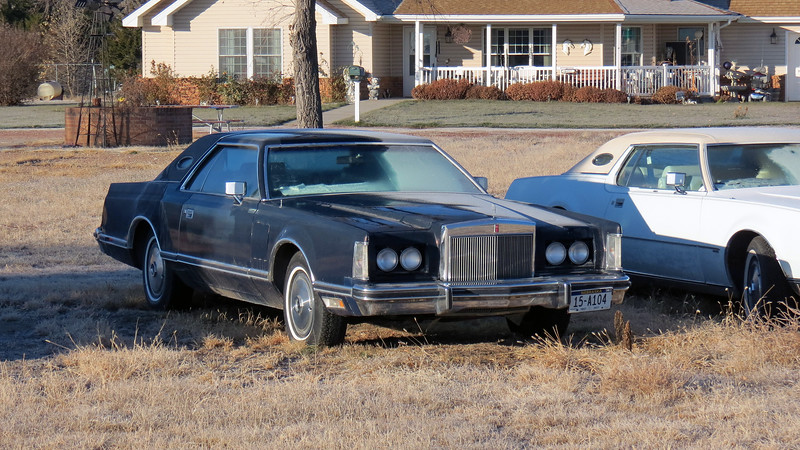 This is a 1978 Lincoln Mark V, one of my all-time favorites !