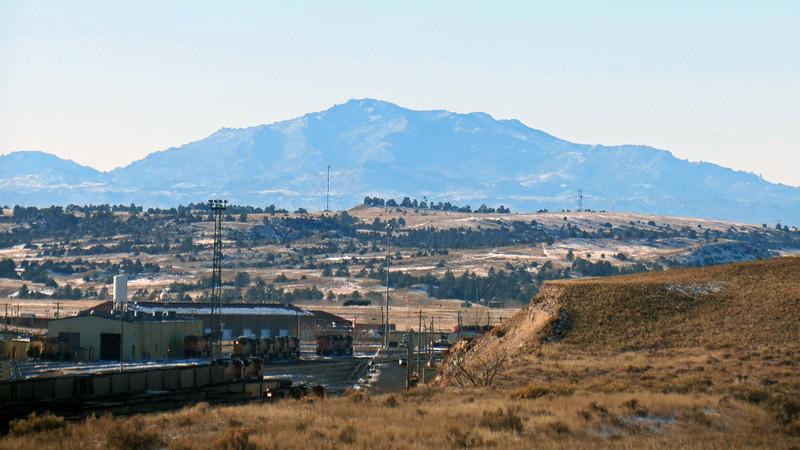If I read the topographic maps correctly, I think this is Laramie Peak (10,275 feet).