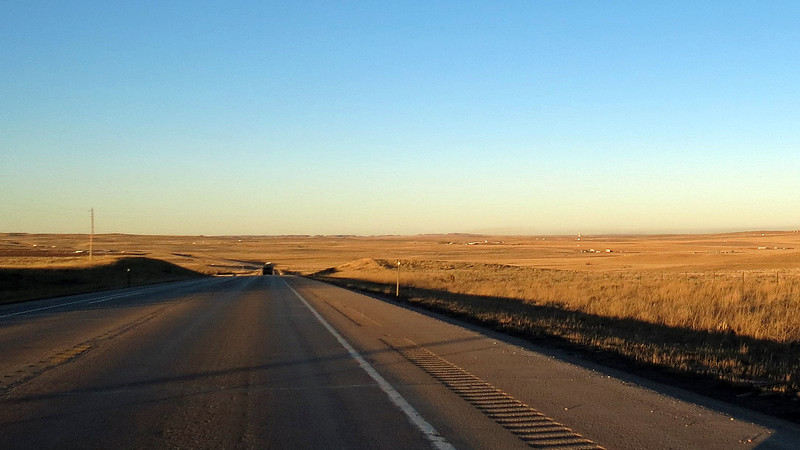 Great scenery along Wyoming Route 59 near Bill, Wyoming.