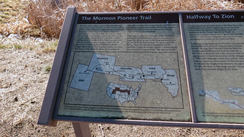 Information on the Mormon Pioneer Trail.
