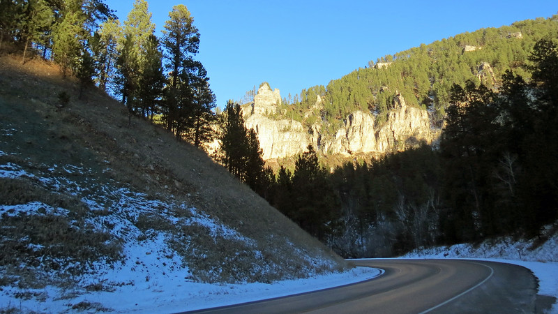 We headed back to the car and continued on our journey along the Spearfish Canyon Scenic Byway.