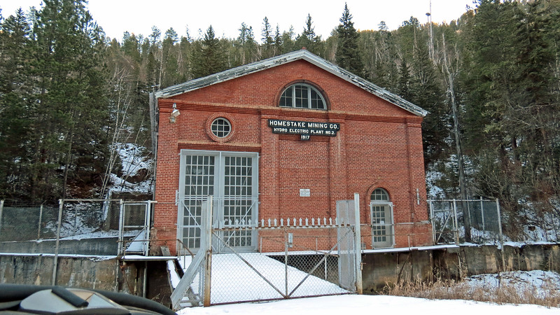 We continued on our journey and soon happened upon an old hydro plant in the town of Maurice, South Dakota.