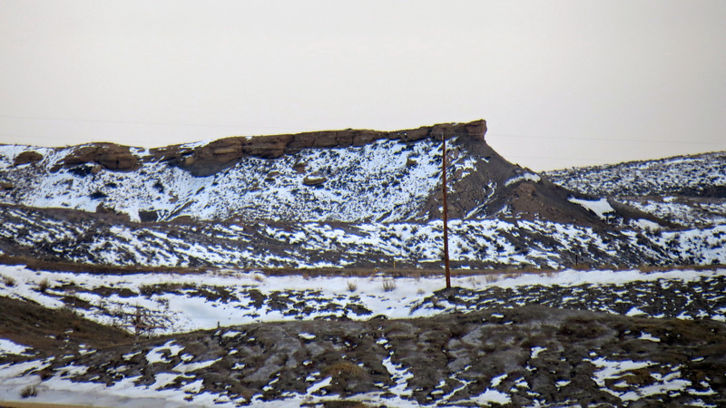 Zooming in on the formations south of Castle Rock.