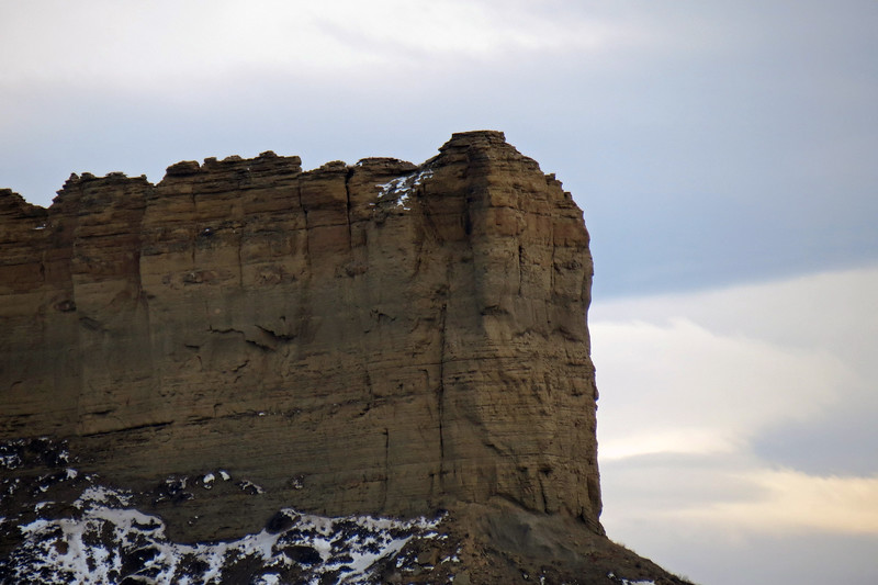 Zooming in on the rimrock.
