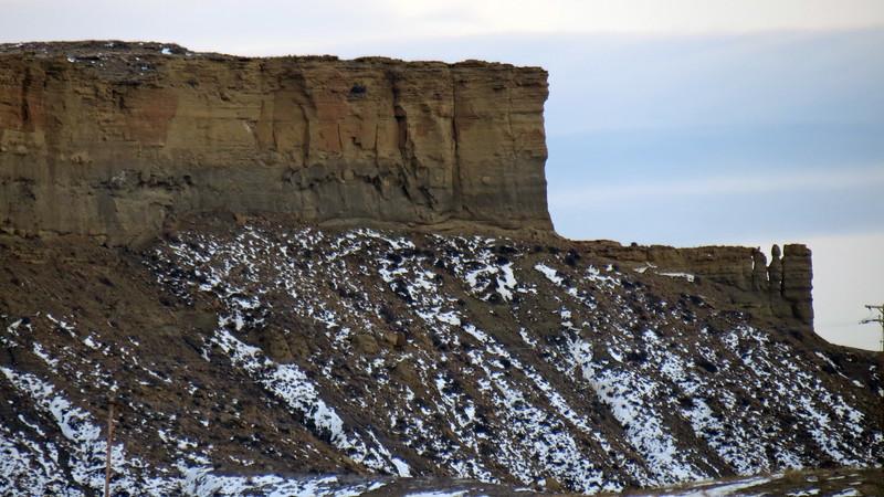 Castle Rock (5,350 feet), Natrona County, Wyoming.