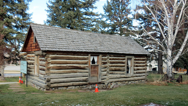 Also on display at the Gatchell Museum is the M. D. Jenkins family cabin.