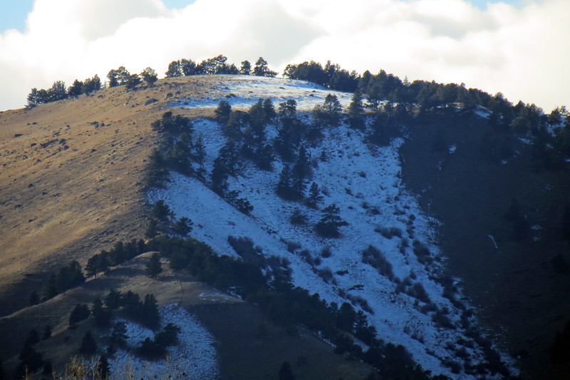 Bald Ridge (6,980 feet).