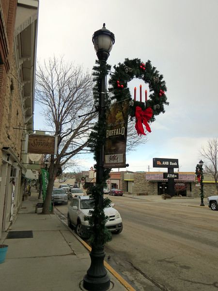 We decided to take a walk along Main Street through the downtown area of Buffalo, Wyoming.