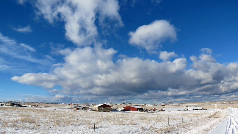 I took a series of three pictures to stitch together for a panorama.  This is picture #1 of 3.