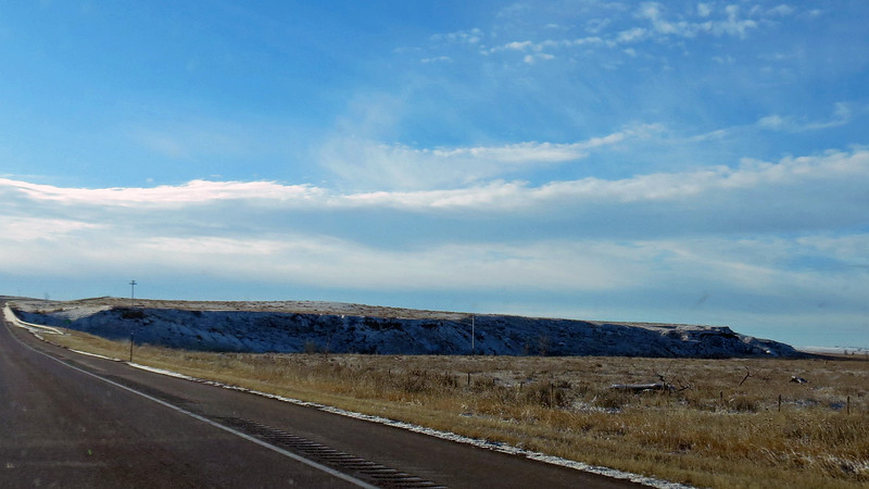 The Cheyenne River is formed in northeastern Wyoming not too far from this area.