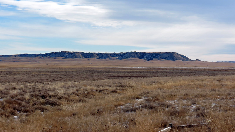 Looking east from US Route 85 near Jay Em, Wyoming.