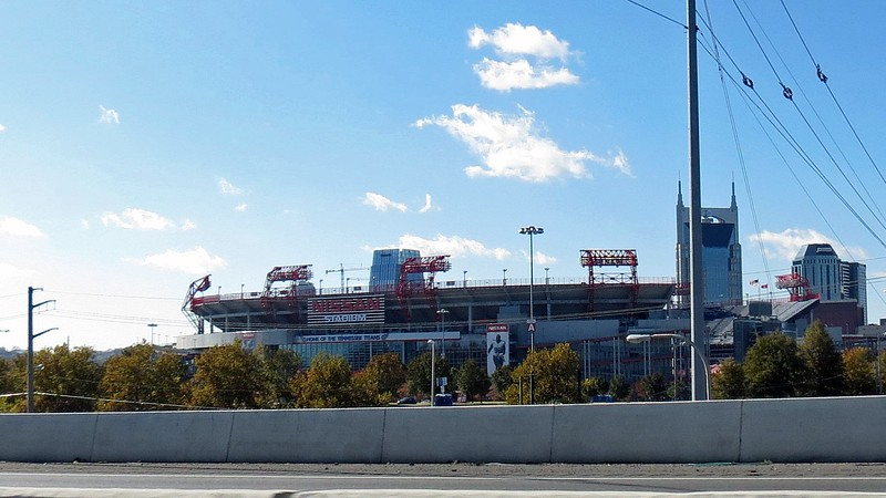 Nissan Stadium is the home to the Tennessee Titans NFL Franchise.  It's also home to the Tennessee State Tigers NCAA Football team.