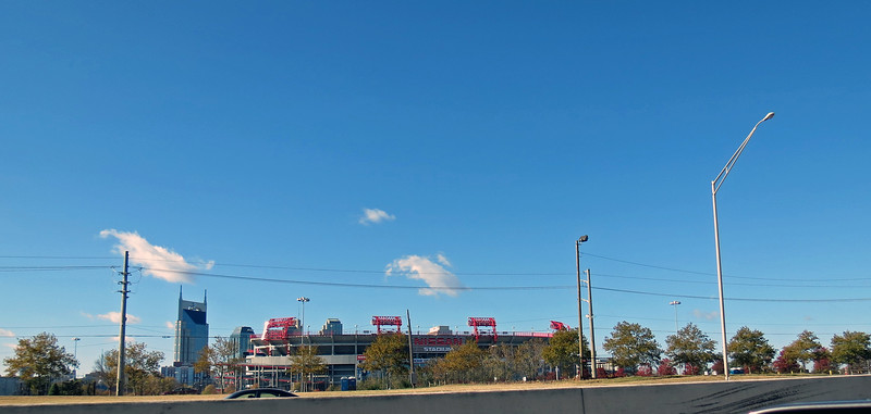 Nissan Stadium soon came into view.