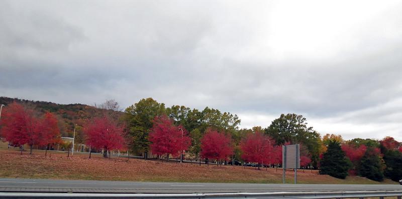 Passing by Dalton State College in Dalton, Georgia.
