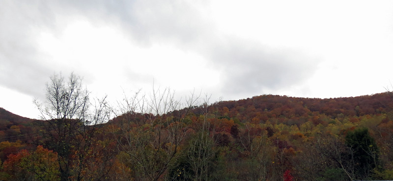 Interstate 24 snakes its way through the section of the Appalachian Mountains known as the Cumberland Plateau.