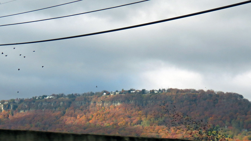 Lookout Mountain became visible outside of Chattanooga.