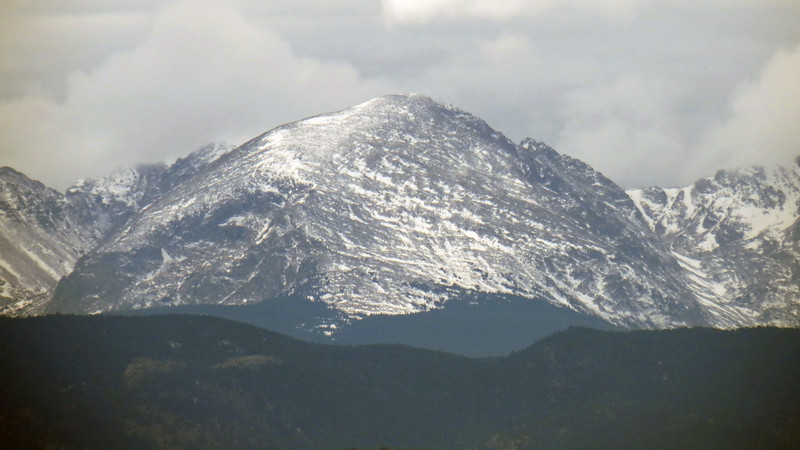 Possibly Mt. Copeland, 13,176 ft.