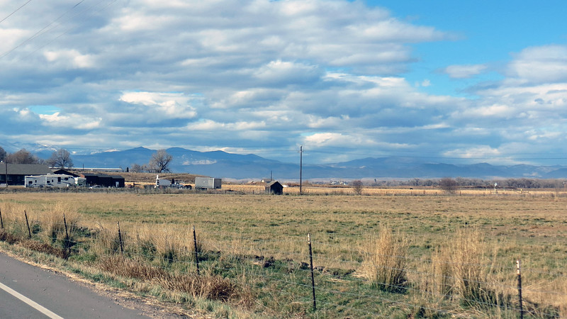 County Road 54 and headed west toward the mountains.