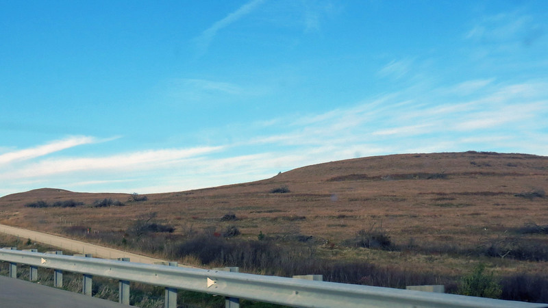 There were, however, lots of rolling hills.
