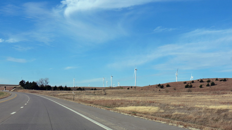 Smoky Hills is the largest wind farm in Kansas covering 20,000 acres, and involving more than 100 property owners.