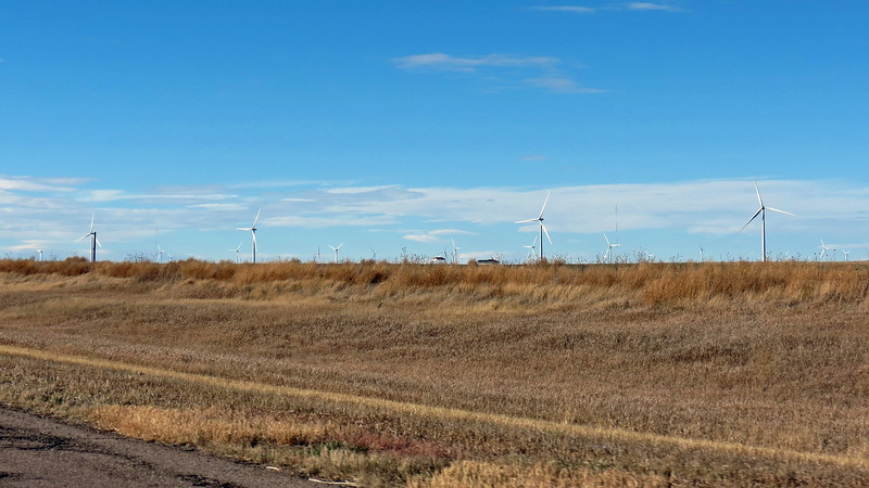 I was passing by the Limon Wind Energy Center outside of Limon, Colorado.