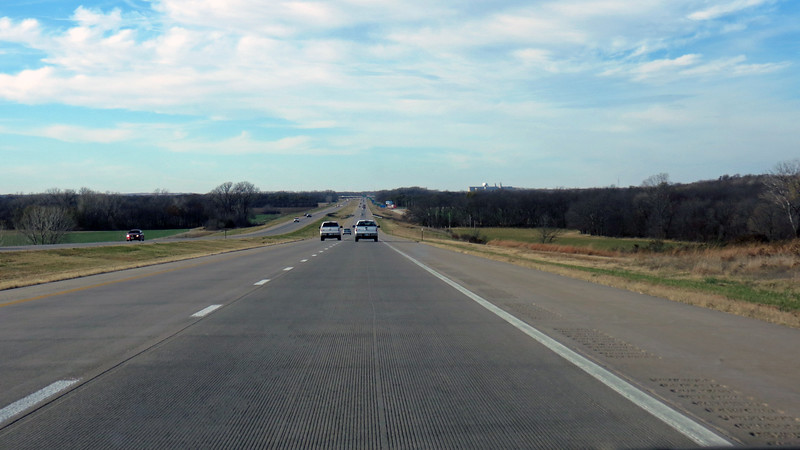 The rolling hills continued as I approached Salina, Kansas.  Even though it may look similar to the Flint Hills, this area is part of different ecological region known as the Smoky Hills.