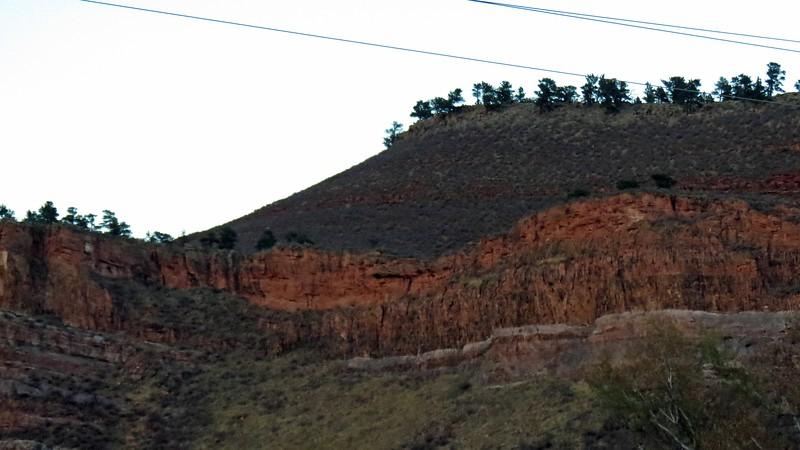A 5,628-foot peak in the Green Ridge Glade area near Loveland Colorado.