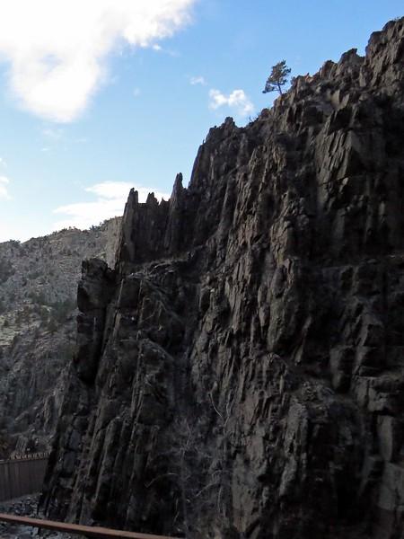 Rock Formation along Big Thompson Canyon Road.