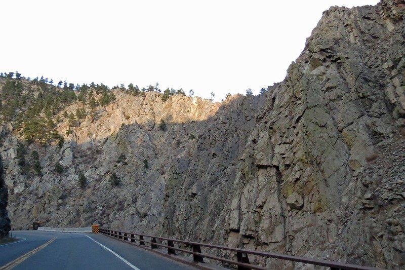 Temporary emergency repairs were made in 2013 in an attempt to keep the roadway open.