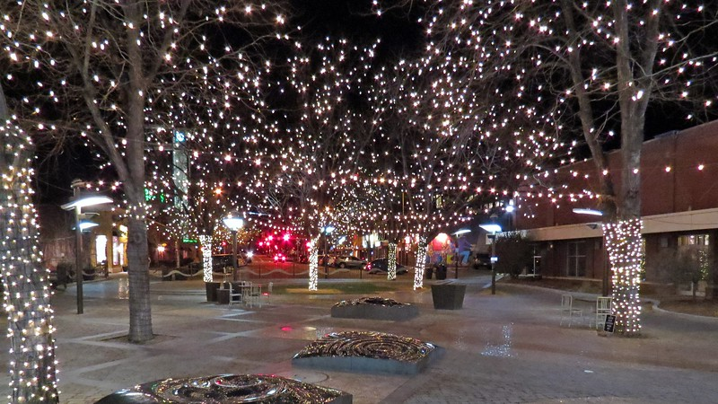 The Oak Street Plaza, Fort Collins, Colorado.