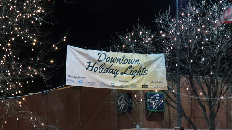 Downtown Holiday Lights is an annual event that takes place in Fort Collins' Old Town.