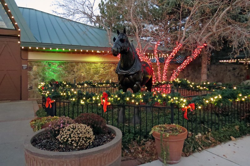 The Fort Collins Brewery is home to the West Coast Team of the famous Budweiser Clydesdales.