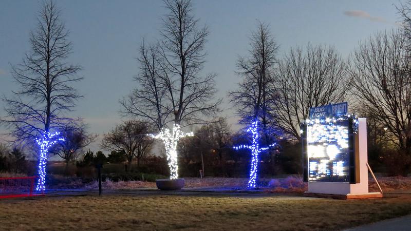 "I liked the ""Bud Light Bright"" display !"
