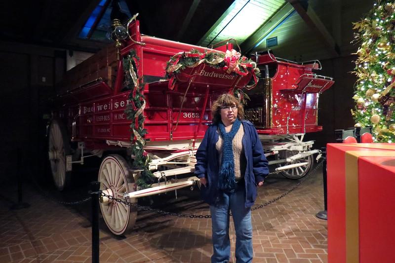 Budweiser beer wagons were made by Studebaker around 1903.