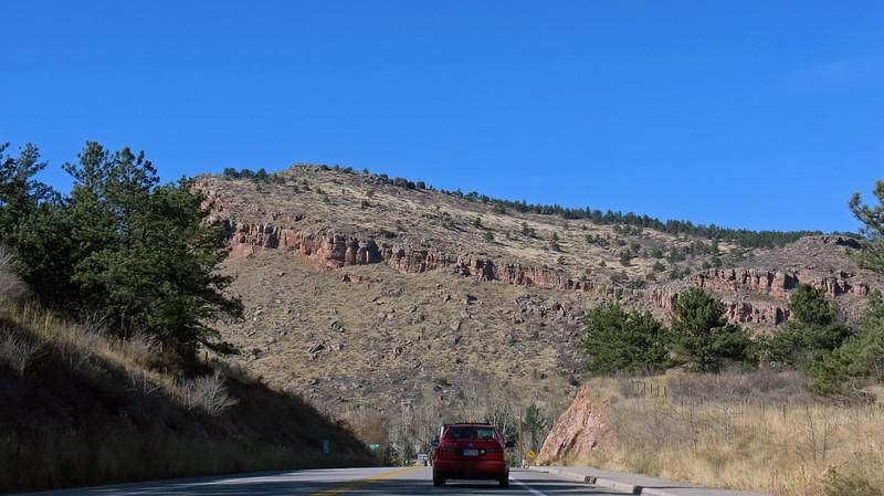Approaching Steamboat Mountain (6,167 feet).