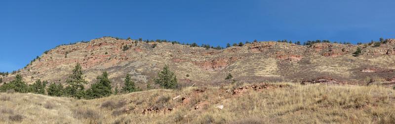 Panorama of Beech Hill (6,570 feet).