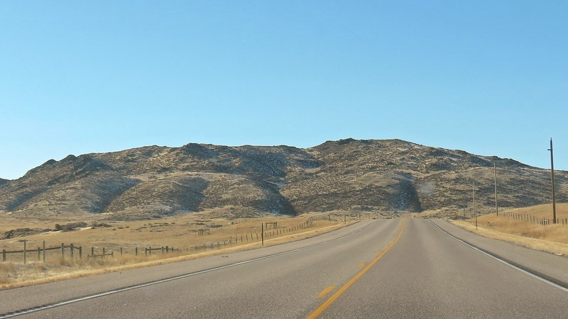 The ridge seen in the photo above sits in front of Curt Gowdy State Park.