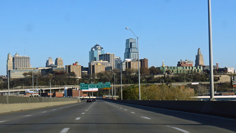 I wasn't sure how easy it would be to get through Kansas City on a Friday afternoon.  But I didn't have any problems.