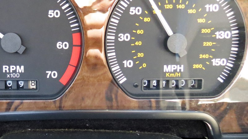 A mere 31k original miles were displayed on the clock when I purchased this car in September 2011.  Four years later, I watched the odometer turned 41k on my way to Jekyll Island.