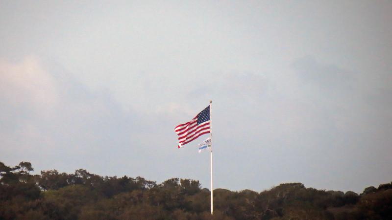 Flag at the Sea Island Golf Club.