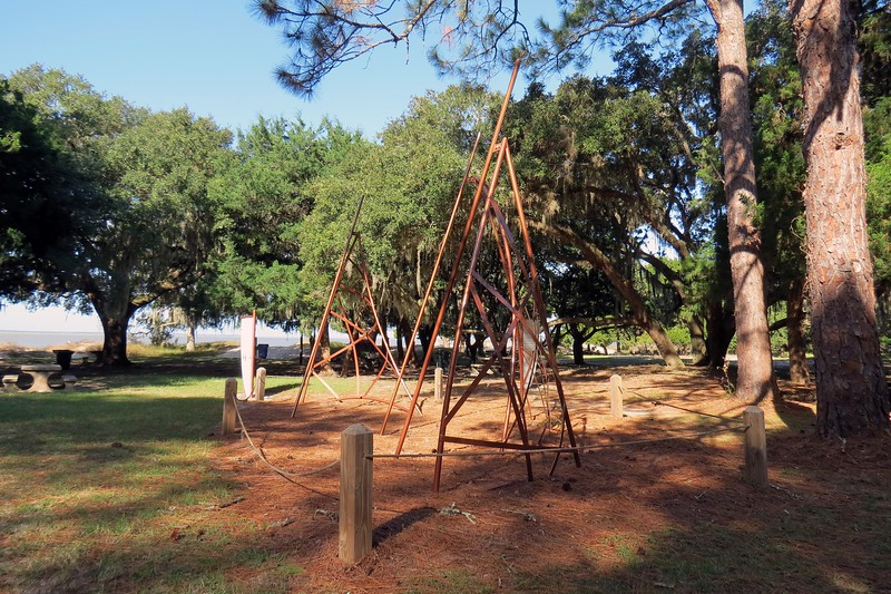 The Wanderer traveled to the African nation of Angola and loaded a cargo 487 slaves on October 4, 1858.  When the ship arrived at Jekyll Island on the morning of November 28, 1858, the 407 slaves who survived the journey and were unloaded and secretly dispersed throughout Georgia, South Carolina, and Florida.